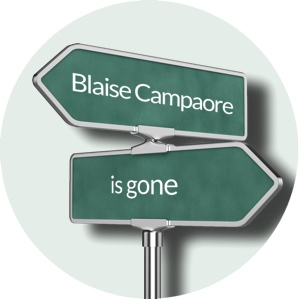 Blaise Campaore is gone