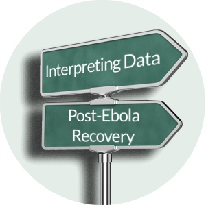 Interpreting data for post-Ebola Recovery